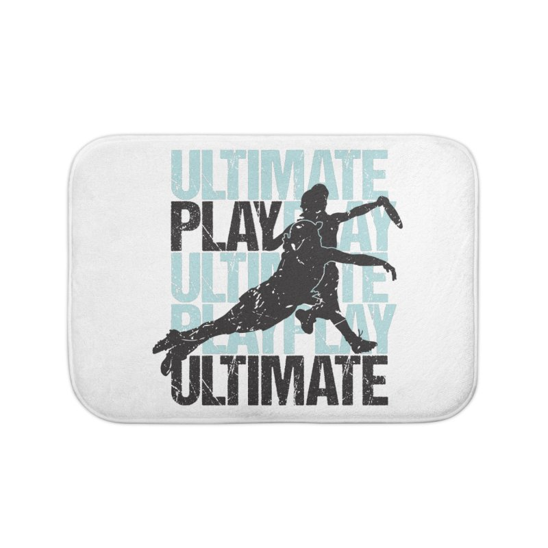 Play Ultimate 1 Home Bath Mat by Puttyhead's Artist Shop