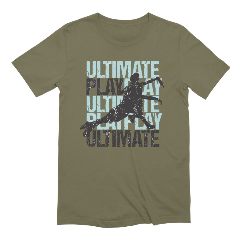 Play Ultimate 1 Men's Extra Soft T-Shirt by Puttyhead's Artist Shop