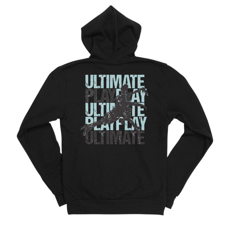 Play Ultimate 1 Women's Sponge Fleece Zip-Up Hoody by Puttyhead's Artist Shop