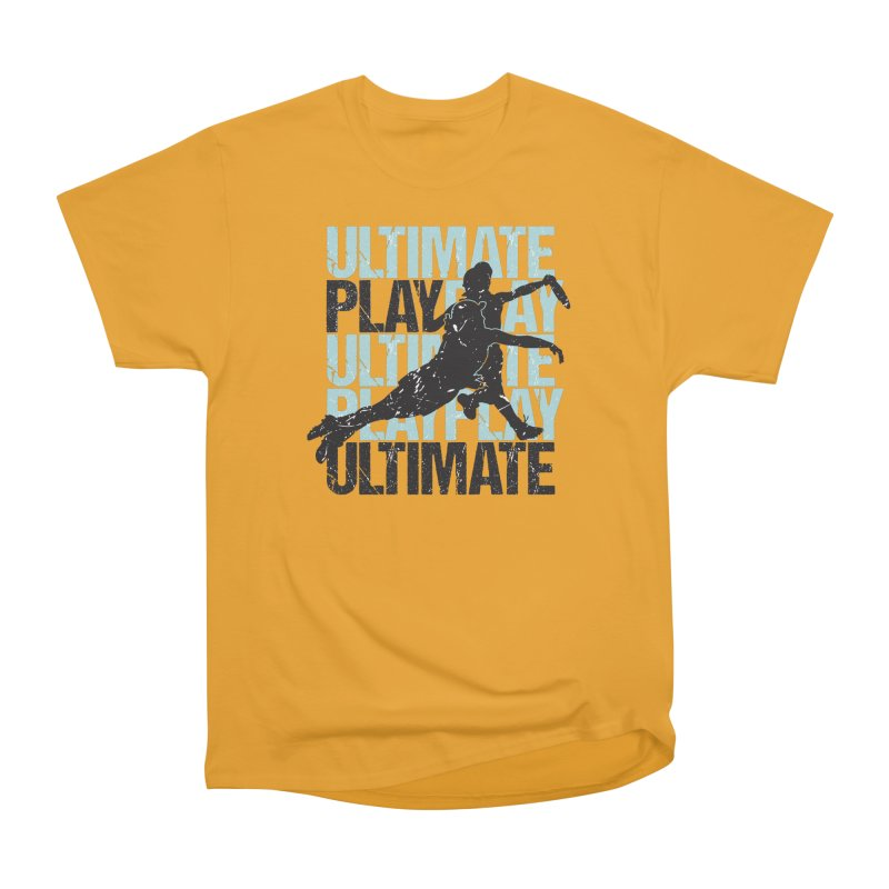 Play Ultimate 1 Men's Classic T-Shirt by Puttyhead's Artist Shop