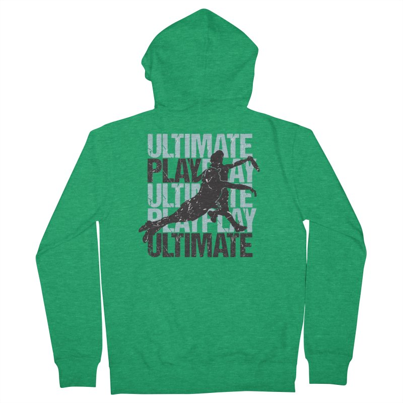 Play Ultimate 1 Women's Zip-Up Hoody by Puttyhead's Artist Shop