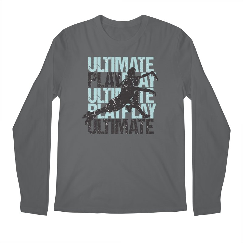 Play Ultimate 1 Men's Longsleeve T-Shirt by Puttyhead's Artist Shop