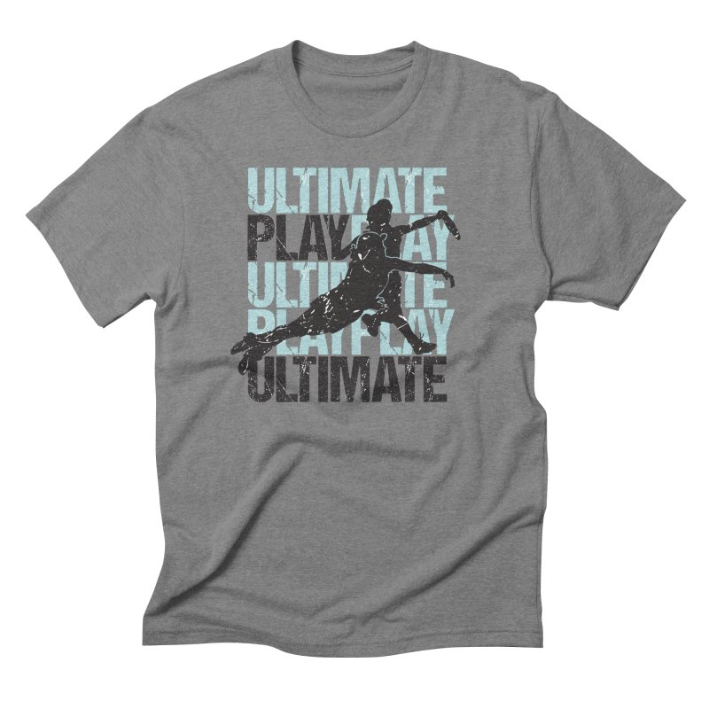 Play Ultimate 1 Men's Triblend T-Shirt by Puttyhead's Artist Shop