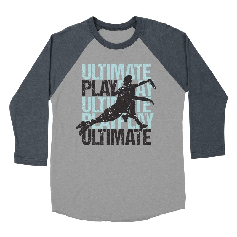 Play Ultimate 1 Men's Baseball Triblend T-Shirt by Puttyhead's Artist Shop