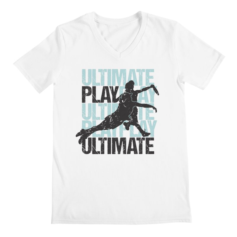 Play Ultimate 1 Men's V-Neck by Puttyhead's Artist Shop