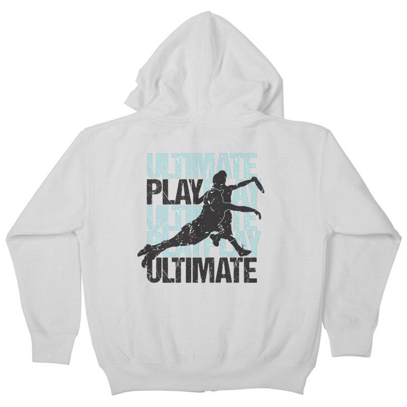 Play Ultimate 1 Kids Zip-Up Hoody by Puttyhead's Artist Shop