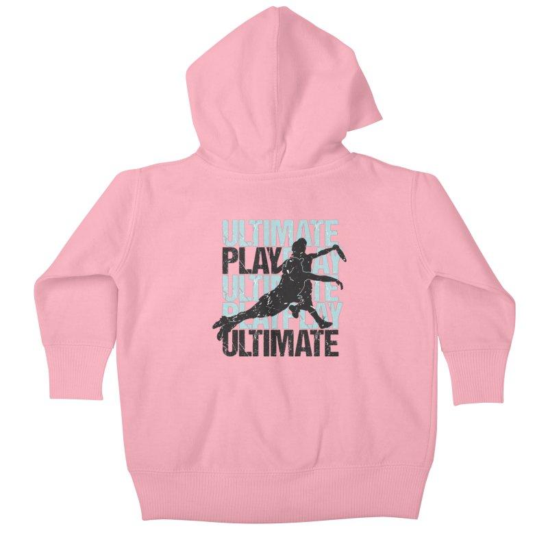 Play Ultimate 1 Kids Baby Zip-Up Hoody by Puttyhead's Artist Shop
