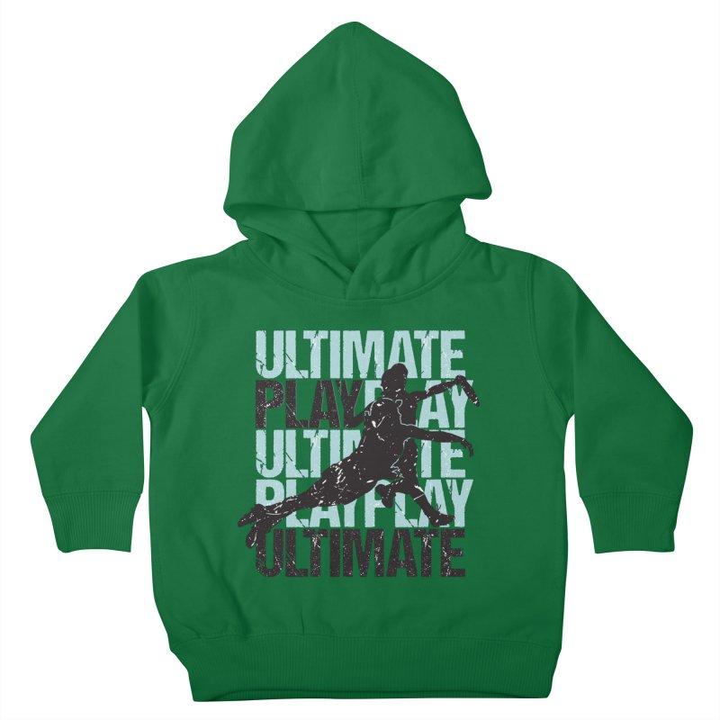 Play Ultimate 1 Kids Toddler Pullover Hoody by Puttyhead's Artist Shop