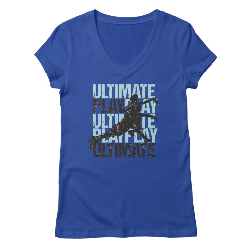 Play Ultimate 1 Women's V-Neck by Puttyhead's Artist Shop