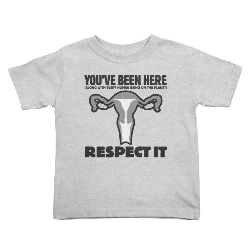 Respect It! Kids Toddler T-Shirt by Puttyhead's Artist Shop