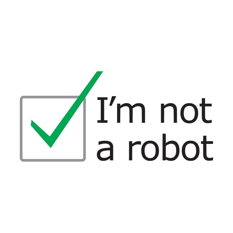 I'm Not A Robot None  by Puttyhead's Artist Shop