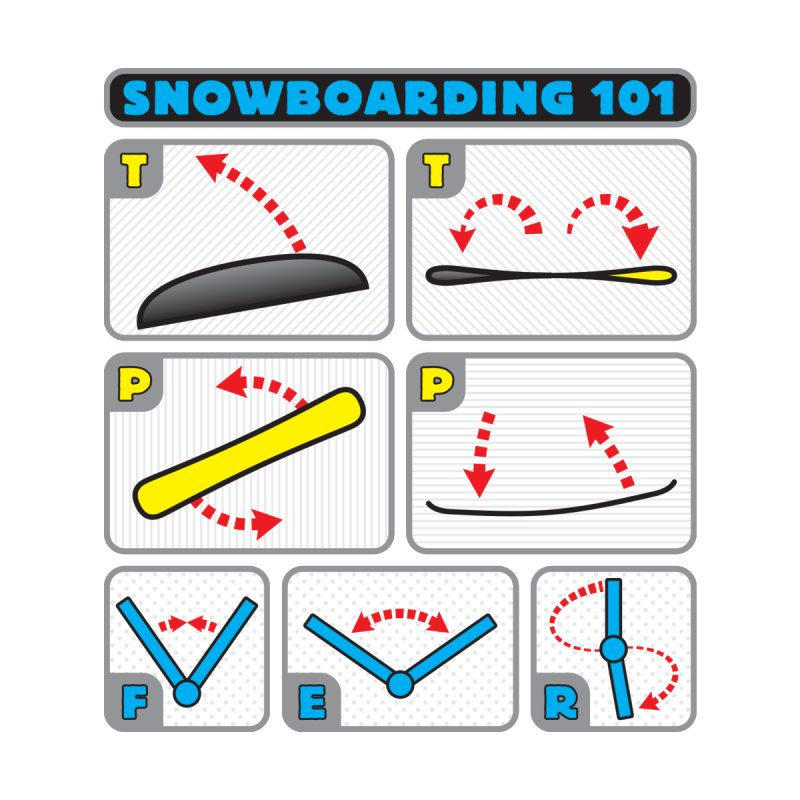Snowboarding 101 by Puttyhead's Artist Shop