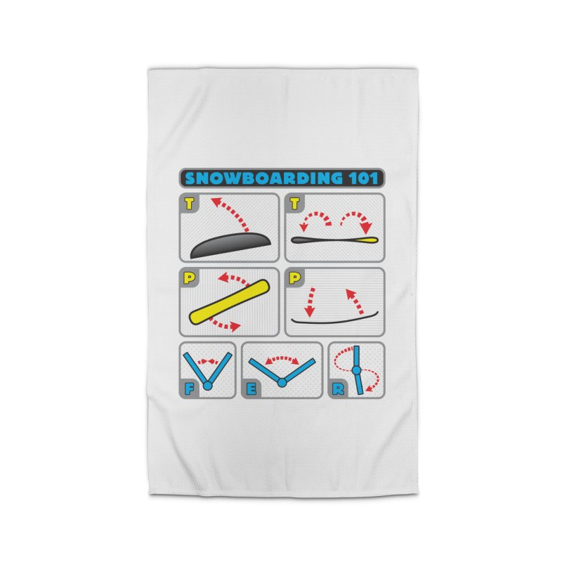 Snowboarding 101 Home Rug by Puttyhead's Artist Shop