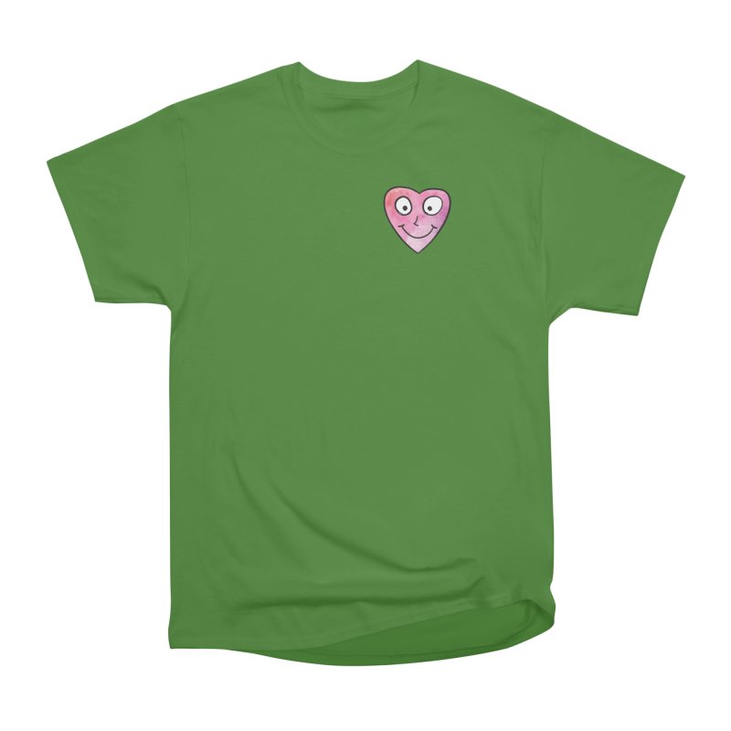 Smiley-Face - Heart Men's Classic T-Shirt by Puttyhead's Artist Shop