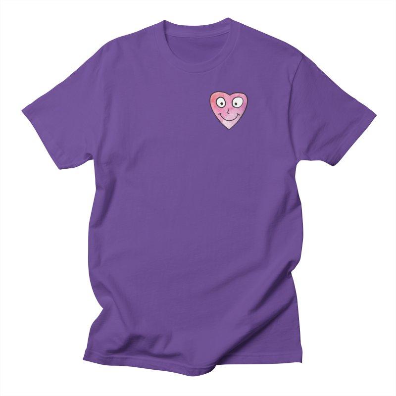 Smiley-Face - Heart Women's Unisex T-Shirt by Puttyhead's Artist Shop