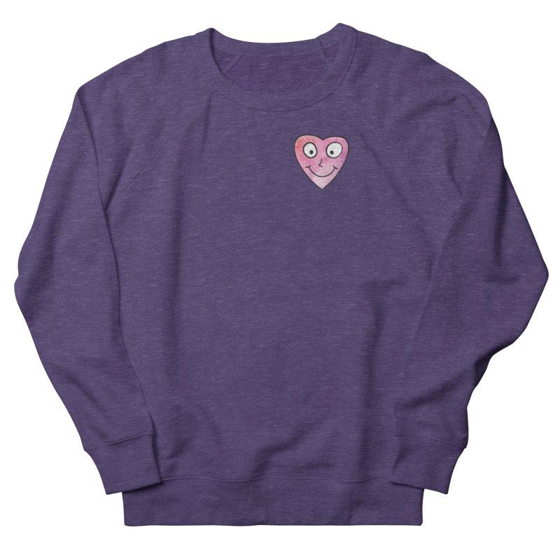 Smiley-Face - Heart Men's Sweatshirt by Puttyhead's Artist Shop