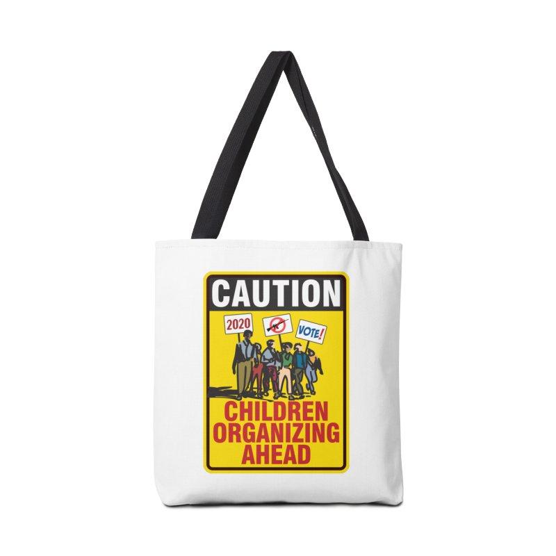 Caution - Children Organizing Accessories Bag by Puttyhead's Artist Shop