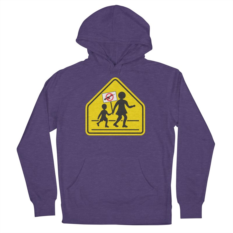 Children Crossing against Guns Women's Pullover Hoody by Puttyhead's Artist Shop