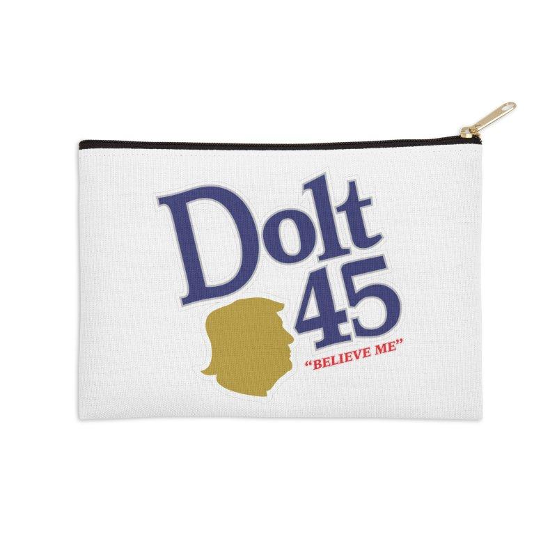 Dolt 45 Accessories Zip Pouch by Puttyhead's Artist Shop