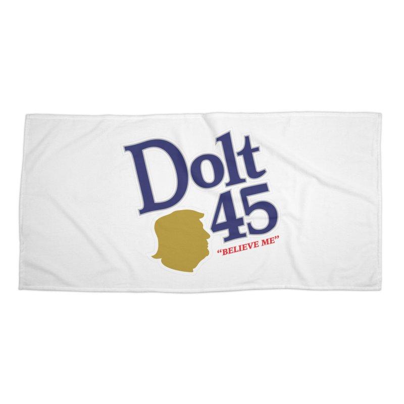 Dolt 45 Accessories Beach Towel by Puttyhead's Artist Shop
