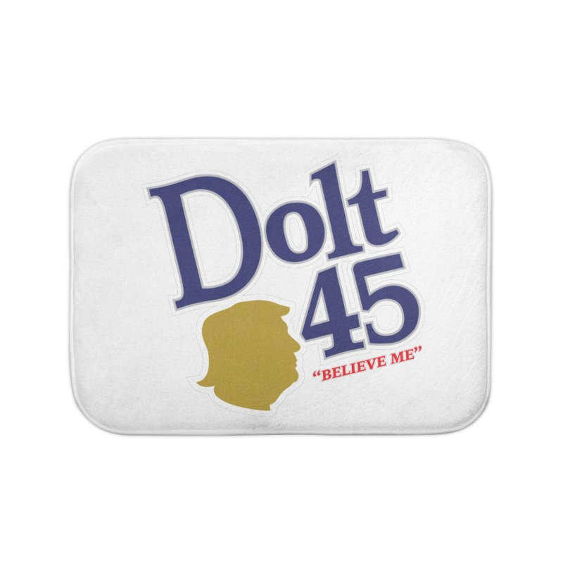 Dolt 45 Home Bath Mat by Puttyhead's Artist Shop