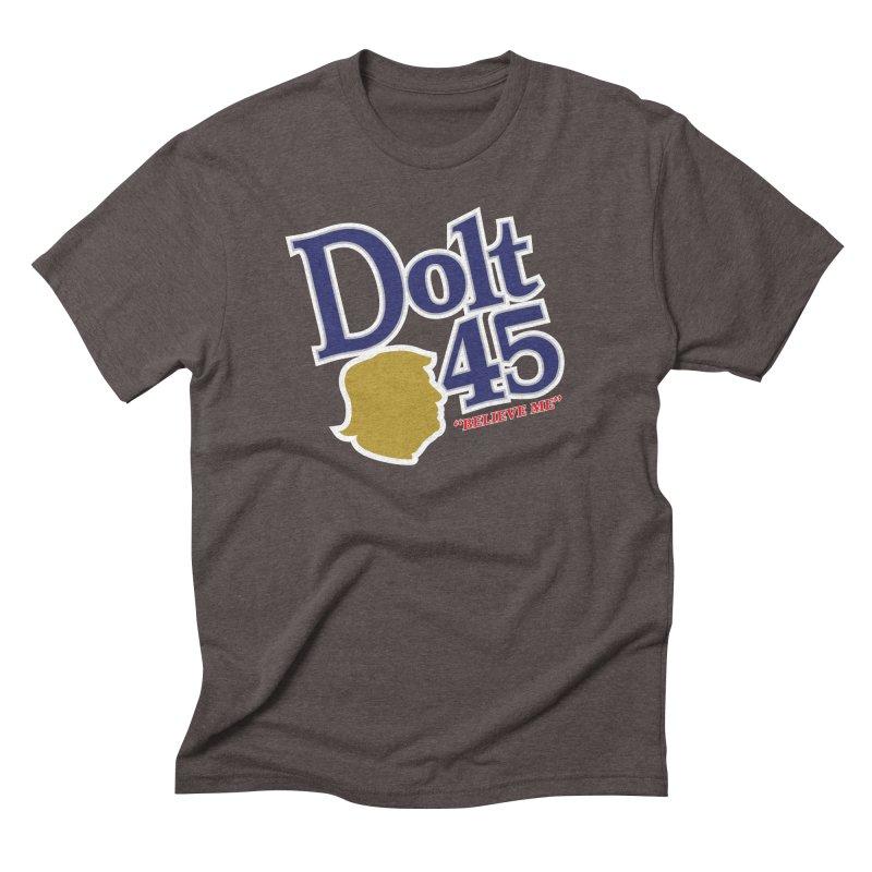 Dolt 45 Men's Triblend T-Shirt by Puttyhead's Artist Shop