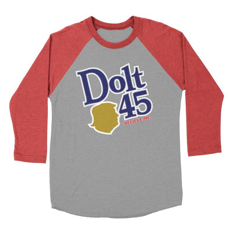 Dolt 45 Women's Baseball Triblend T-Shirt by Puttyhead's Artist Shop