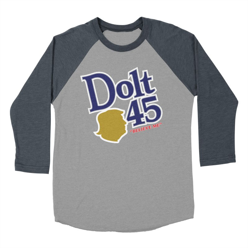 Dolt 45 Men's Baseball Triblend T-Shirt by Puttyhead's Artist Shop