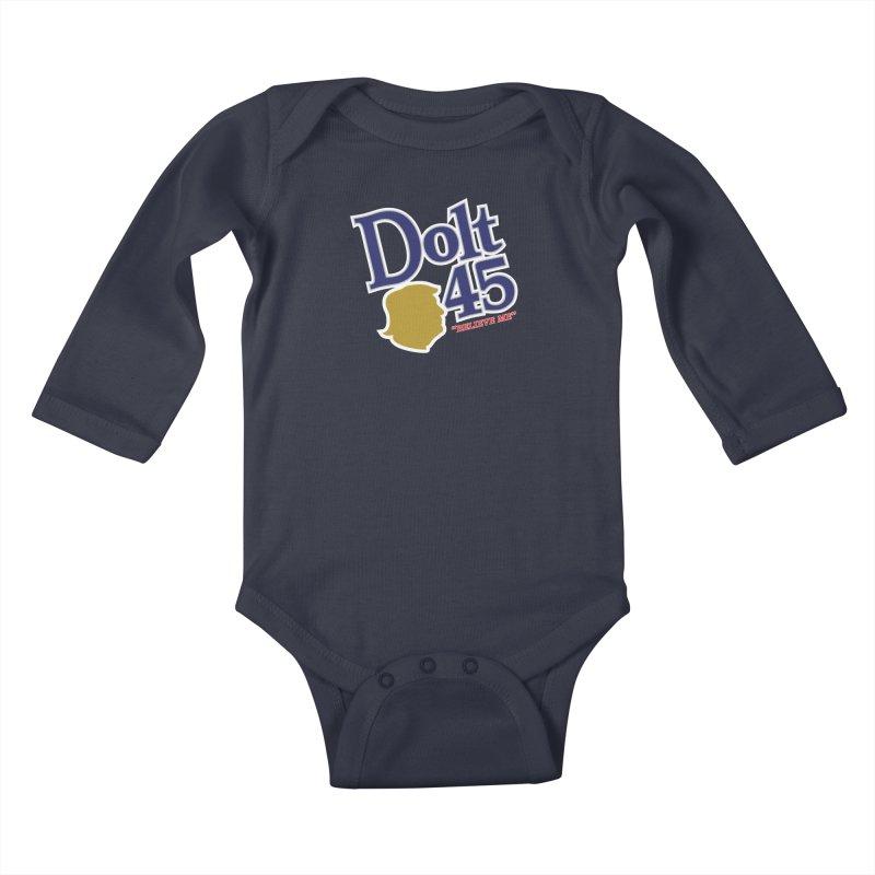 Dolt 45 Kids Baby Longsleeve Bodysuit by Puttyhead's Artist Shop