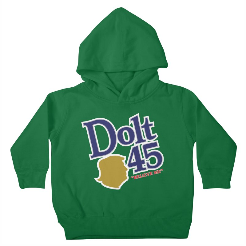 Dolt 45 Kids Toddler Pullover Hoody by Puttyhead's Artist Shop