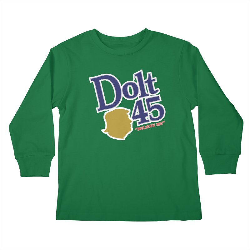 Dolt 45 Kids Longsleeve T-Shirt by Puttyhead's Artist Shop