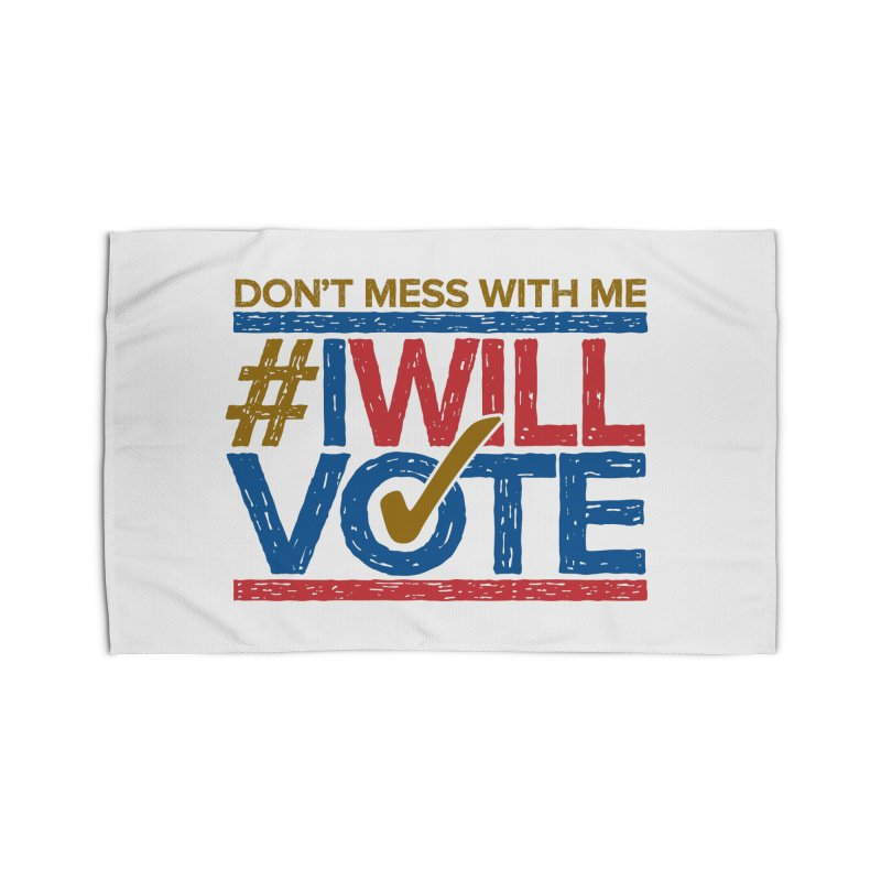 I Will Vote Home Rug by Puttyhead's Artist Shop