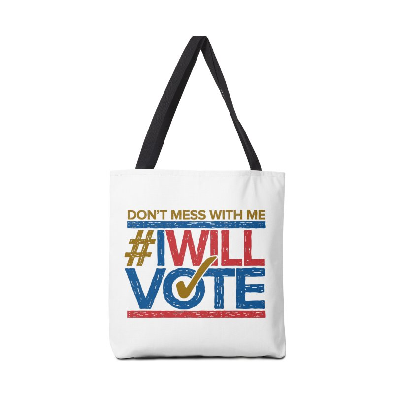 I Will Vote Accessories Bag by Puttyhead's Artist Shop