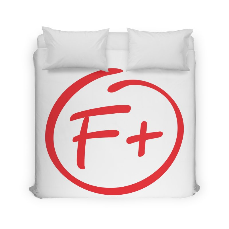 F+ Home Duvet by Puttyhead's Artist Shop