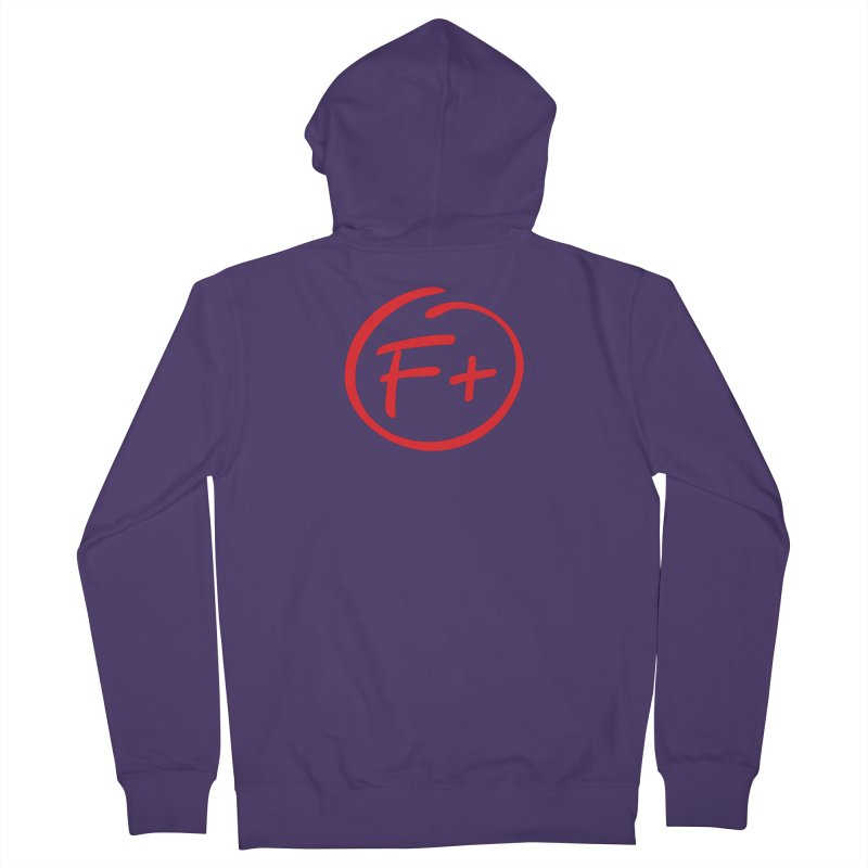 F+ Women's Zip-Up Hoody by Puttyhead's Artist Shop