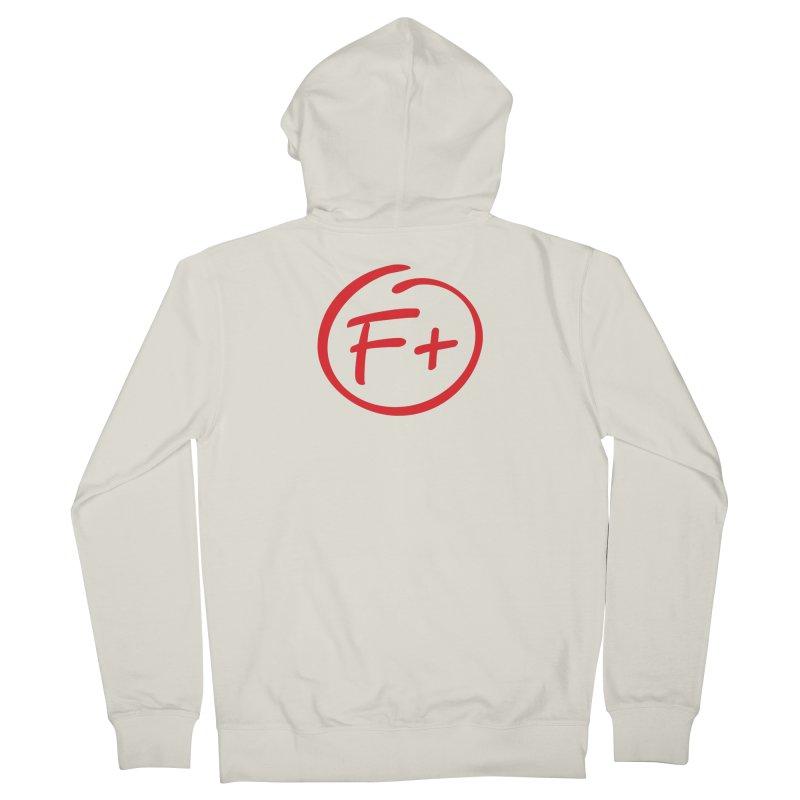 F+ Men's Zip-Up Hoody by Puttyhead's Artist Shop