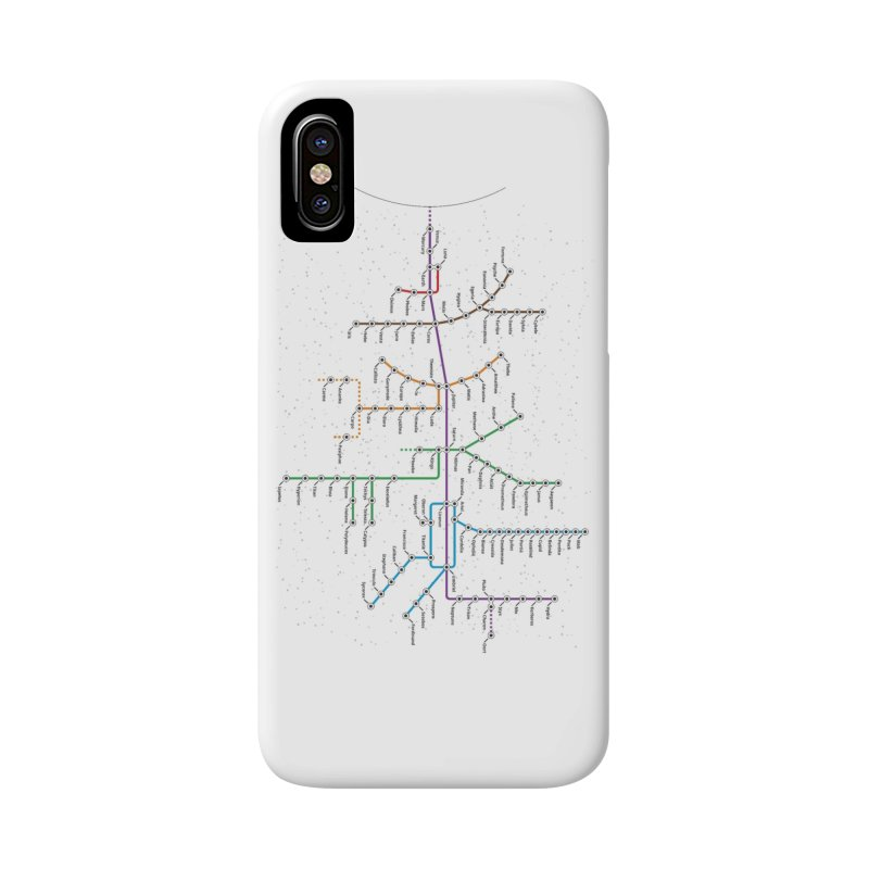 Moons Transit Accessories Phone Case by Puttyhead's Artist Shop