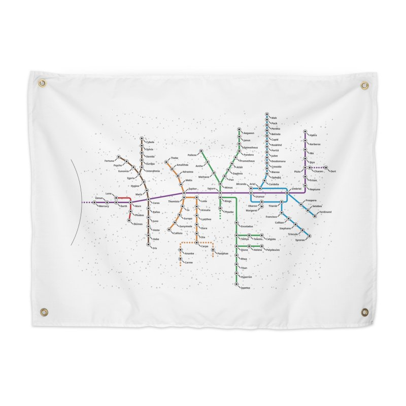 Moons Transit Home Tapestry by Puttyhead's Artist Shop