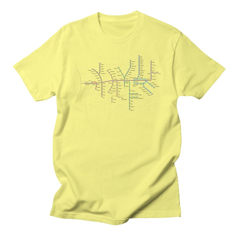 Moons Transit Men's T-Shirt by Puttyhead's Artist Shop