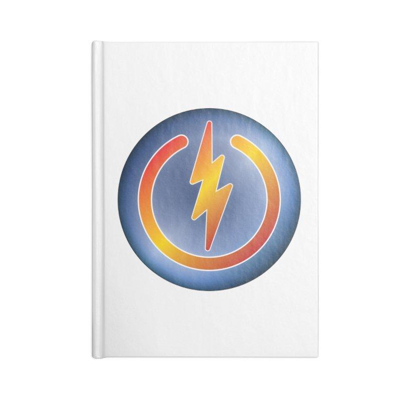 Power Button Accessories Notebook by Puttyhead's Artist Shop