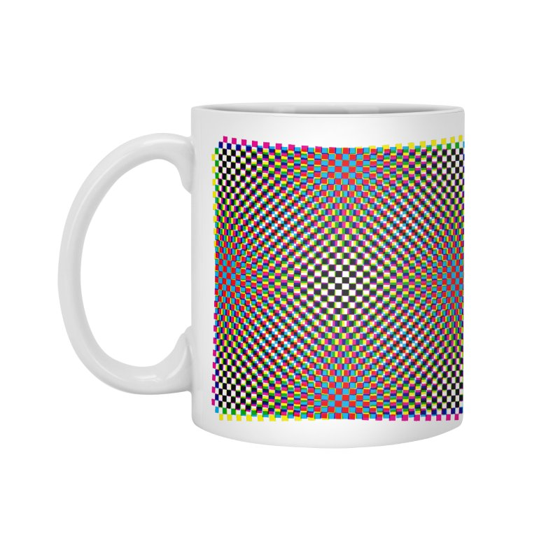 Moire 1 Accessories Mug by Puttyhead's Artist Shop