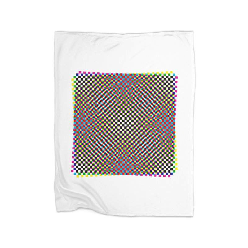 Moire 1 Home Blanket by Puttyhead's Artist Shop