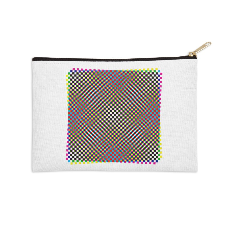Moire 1 Accessories Zip Pouch by Puttyhead's Artist Shop