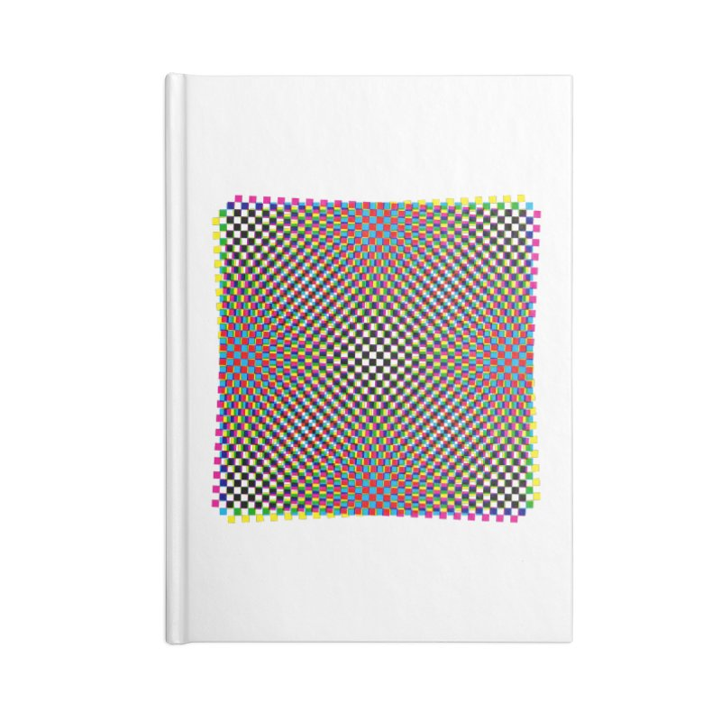 Moire 1 Accessories Notebook by Puttyhead's Artist Shop
