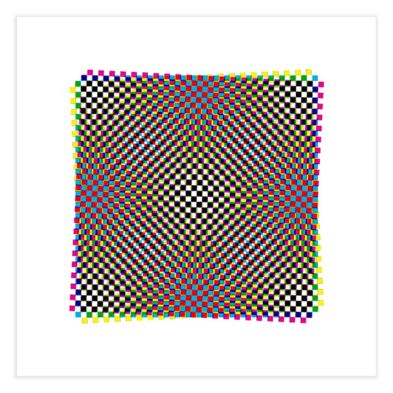 Moire 1 Home Fine Art Print by Puttyhead's Artist Shop