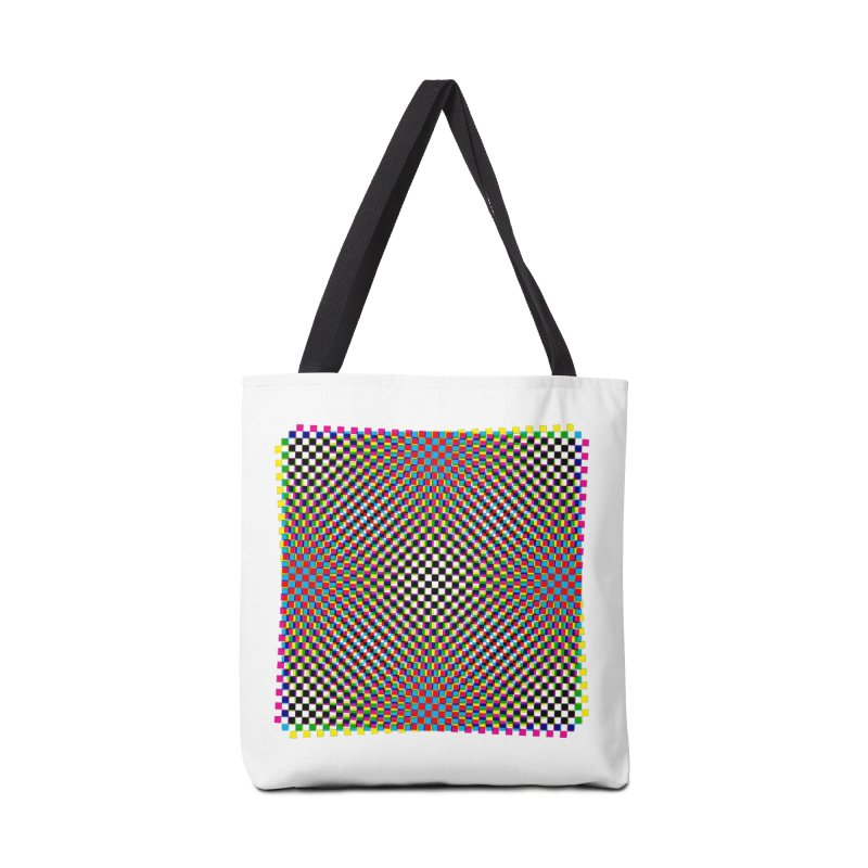 Moire 1 Accessories Bag by Puttyhead's Artist Shop