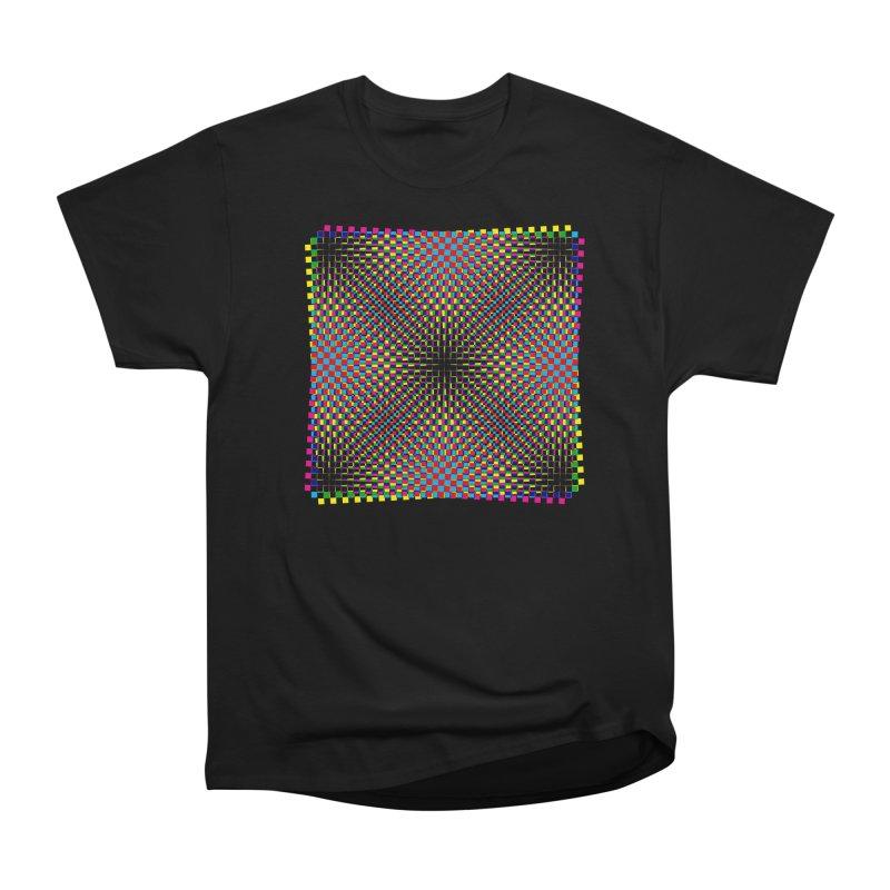 Moire 1 Men's Classic T-Shirt by Puttyhead's Artist Shop