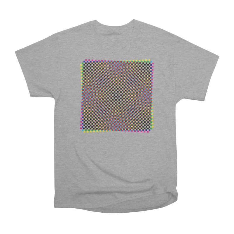 Moire 1 Women's Classic Unisex T-Shirt by Puttyhead's Artist Shop