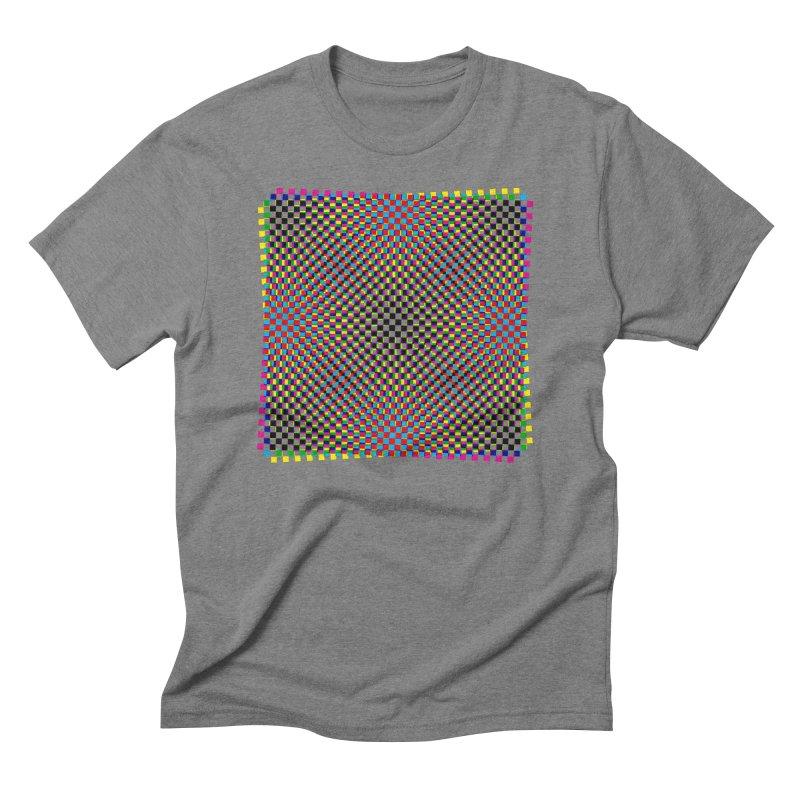 Moire 1 Men's Triblend T-Shirt by Puttyhead's Artist Shop
