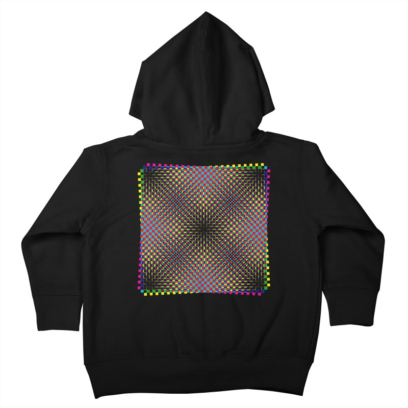 Moire 1 Kids Toddler Zip-Up Hoody by Puttyhead's Artist Shop